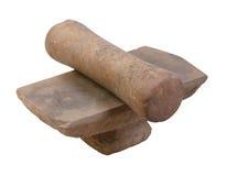 Oud mortier royalty-vrije stock afbeeldingen