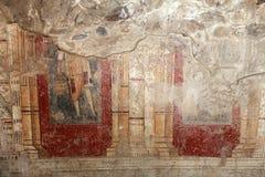 Oud Mozaïek in de Oude Stad van Antandrus, Turkije Stock Afbeeldingen