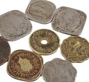 Oud muntstuk royalty-vrije stock fotografie