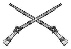 Oud musket Royalty-vrije Stock Foto