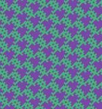 Oud naadloos het patroonontwerp van het schoolspel Vector Illustratie