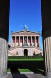Oud National Gallery, Berlijn stock afbeelding
