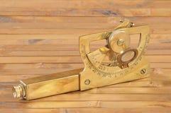Oud navigatieinstrument royalty-vrije stock foto's