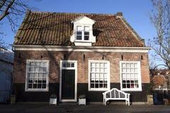 Oud Nederlands huis Stock Afbeeldingen
