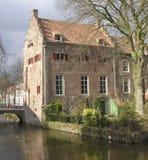 Oud Nederlands huis Royalty-vrije Stock Fotografie