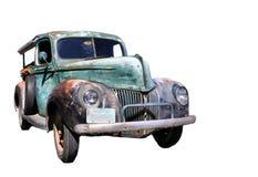 Oud neem vrachtwagen op Royalty-vrije Stock Afbeelding