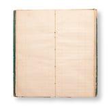 Oud notaboek Stock Afbeelding