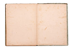 Oud notitieboekje Stock Afbeeldingen