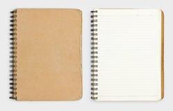 Oud notitieboekje Royalty-vrije Stock Fotografie