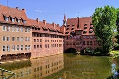 Oud Nuremberg stock foto's