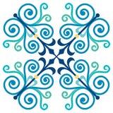 Oud ontwerppatroon Royalty-vrije Stock Foto