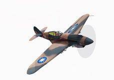 Oud oorlogsvliegtuig Royalty-vrije Stock Afbeeldingen