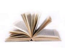 Oud open boek Royalty-vrije Stock Afbeelding