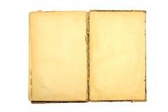 Oud open boek. Royalty-vrije Stock Afbeelding
