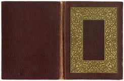 Oud open boek 1920 Royalty-vrije Stock Afbeeldingen