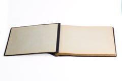 Oud open boek/fotoalbum Royalty-vrije Stock Foto