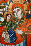 Oud orthodox pictogram Royalty-vrije Stock Foto