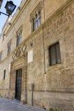 Oud paleis Royalty-vrije Stock Fotografie