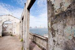 Oud Panama Stock Foto's