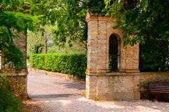 Oud park in Italië Stock Fotografie