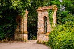 Oud park in Italië Royalty-vrije Stock Afbeeldingen