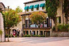Oud park in Italië Stock Foto's