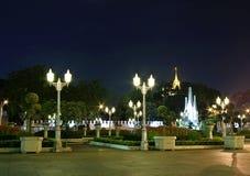 Oud park van monument en pagode Royalty-vrije Stock Foto