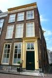 Oud patricisch huis in Holland de stad in. Royalty-vrije Stock Foto's