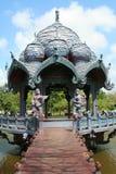 Oud paviljoen royalty-vrije stock foto's