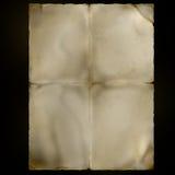 Oud perkament royalty-vrije stock foto