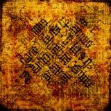 Oud Perkament - Grungy achtergrond Royalty-vrije Stock Foto's
