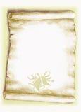 Oud perkament, Kerstmis Royalty-vrije Stock Afbeeldingen