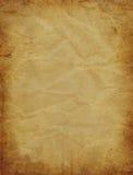 Oud perkamentdocument Stock Afbeeldingen