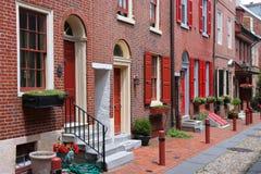 Oud Philadelphia Stock Foto