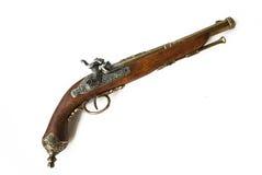 Oud pistool Royalty-vrije Stock Afbeeldingen