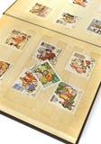 Oud plakboek Stock Foto's