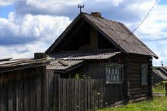Oud plattelandshuisje Royalty-vrije Stock Foto