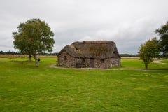 Oud Plattelandshuisje Leanach Royalty-vrije Stock Foto