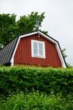 Oud Plattelandshuisjehuis Stock Foto's