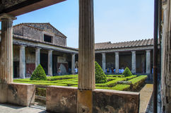 Oud Pompei Royalty-vrije Stock Foto's
