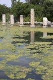 Oud Pool en Agora, Aphrodisias, Aydin Stock Fotografie