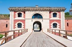 Oud portaal van Zamosc Stock Afbeeldingen