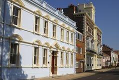 Oud Portsmouth. Hampshire. Engeland Royalty-vrije Stock Afbeeldingen
