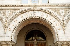 Oud Postkantoor, Washington, gelijkstroom Stock Afbeeldingen