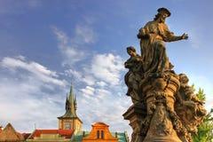 Oud Praag. Royalty-vrije Stock Afbeeldingen