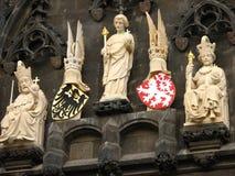 Oud Praag. Stock Afbeeldingen