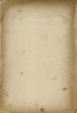 Oud prentbriefkaardocument Royalty-vrije Stock Fotografie