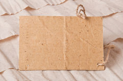 Oud prijskaartje Stock Afbeelding