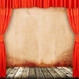 Oud provinciaal theater Royalty-vrije Stock Afbeelding