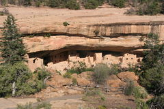 Oud Pueblo-Huis Royalty-vrije Stock Fotografie